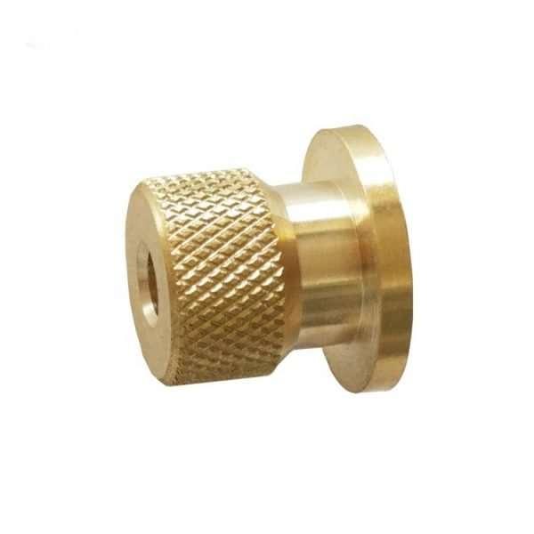 02 Custom CNC Machining Brass Turned Component
