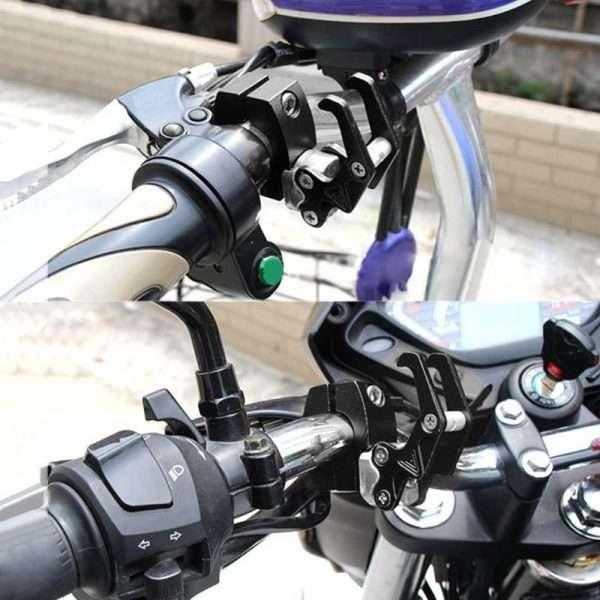 Cnc Aluminium Alloy Motorcycle Helmet Hook 02