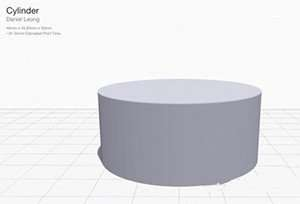 Cylinder 3D Printing