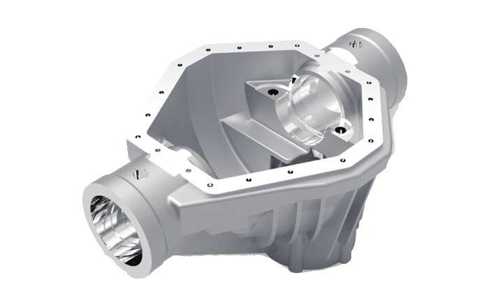 5-axis machining of aluminum alloy parts