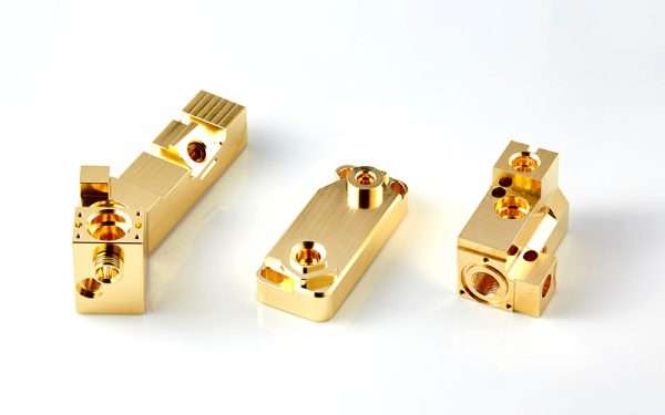 5 axis cnc machined precision brass alloy parts