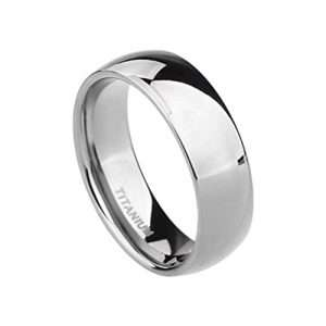 Best titanium wedding bands - mens titanium wedding bands