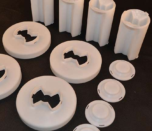 cnc machining plastic products