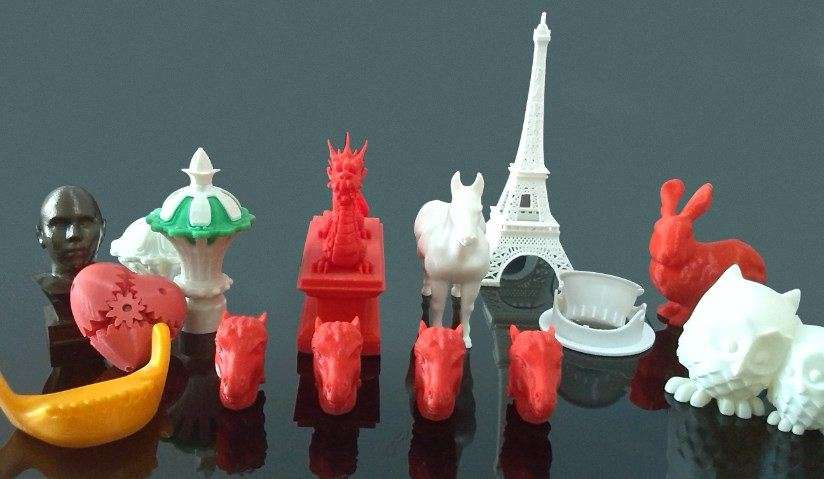The product made by 3D Printing 1